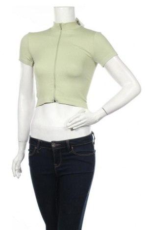 Cardigan de damă Urban Outfitters, Mărime S, Culoare Verde, 97% poliamidă, 3% elastan, Preț 170,23 Lei