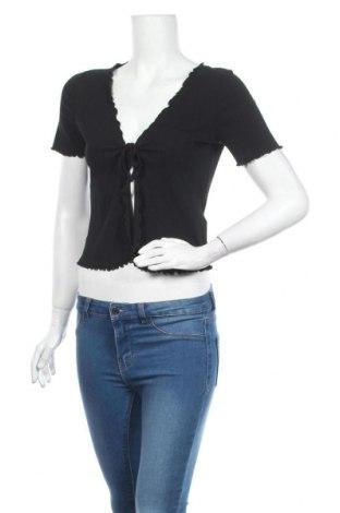 Cardigan de damă Urban Outfitters, Mărime L, Culoare Negru, 92% bumbac, 8% elastan, Preț 145,56 Lei