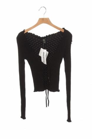 Cardigan de damă Urban Outfitters, Mărime XS, Culoare Negru, 50% viscoză, 30% poliester, 20% poliamidă, Preț 194,90 Lei