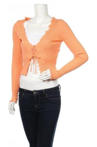 Cardigan de damă Urban Outfitters, Mărime M, Culoare Portocaliu, 47% viscoză, 30% poliester, 23% poliamidă, Preț 219,57 Lei