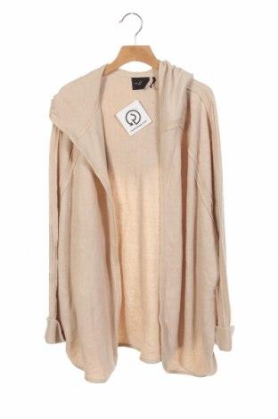 Cardigan de damă Urban Outfitters, Mărime XS, Culoare Bej, 63% viscoză, 35% poliester, 2%, Preț 187,50 Lei