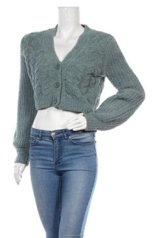 Cardigan de damă Urban Outfitters, Mărime S, Culoare Verde, 81% poliester, 19%acril, Preț 219,57 Lei