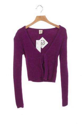 Cardigan de damă Urban Outfitters, Mărime XS, Culoare Mov, Poliamidă, Preț 170,23 Lei