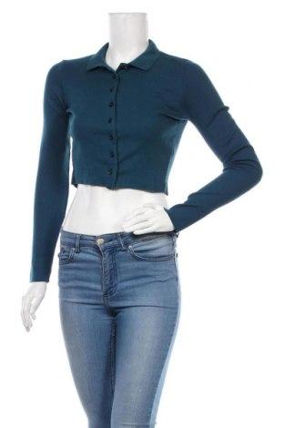 Cardigan de damă Urban Outfitters, Mărime S, Culoare Albastru, Bumbac, Preț 133,22 Lei