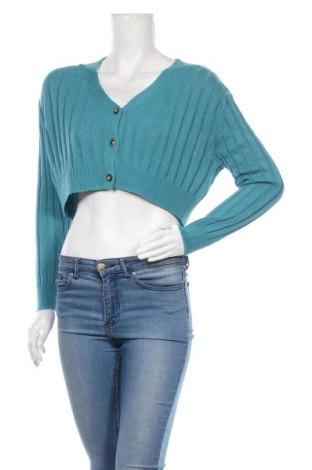 Cardigan de damă Urban Outfitters, Mărime S, Culoare Albastru, 60% bumbac, 40% viscoză, Preț 219,57 Lei