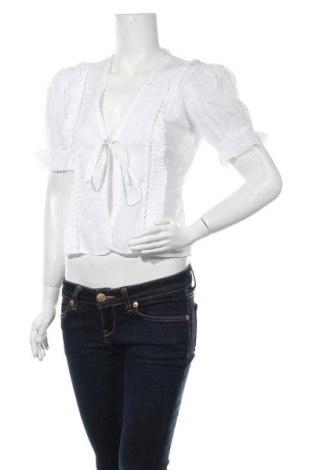 Cardigan de damă Urban Outfitters, Mărime S, Culoare Alb, Bumbac, Preț 22,70 Lei
