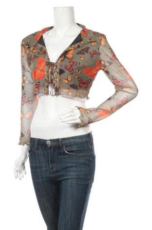 Дамска жилетка Urban Outfitters, Размер M, Цвят Многоцветен, 95% полиестер, 5% еластан, Цена 56,00лв.