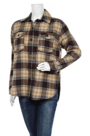 Дамска риза BDG, Размер M, Цвят Многоцветен, 54% акрил, 22% полиестер, 14% вълна, 3% вискоза, Цена 55,50лв.