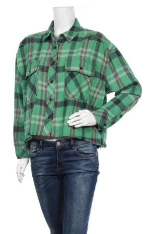 Дамска риза BDG, Размер M, Цвят Многоцветен, Памук, Цена 69,00лв.