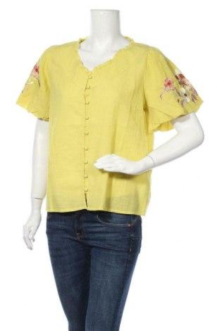 Γυναικείο πουκάμισο Cream, Μέγεθος M, Χρώμα Πράσινο, Τιμή 29,73€