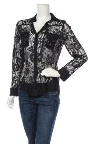 Дамска риза Express, Размер M, Цвят Черен, 70% вискоза, 30% полиамид, Цена 4,99лв.