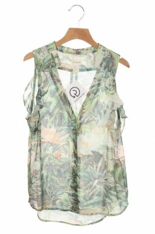 Дамска риза H&M Conscious Collection, Размер XS, Цвят Многоцветен, Полиестер, Цена 12,60лв.