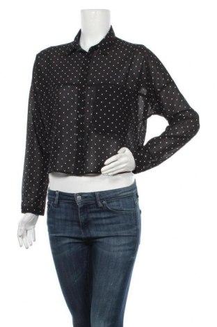 Дамска риза Hot Options, Размер M, Цвят Черен, Полиестер, Цена 4,46лв.