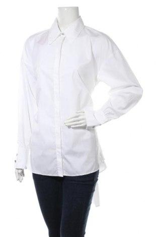 Γυναικείο πουκάμισο Hugo Boss, Μέγεθος M, Χρώμα Λευκό, 98% βαμβάκι, 2% ελαστάνη, Τιμή 86,17€