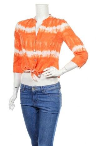 Дамска риза INC International Concepts, Размер S, Цвят Оранжев, Памук, Цена 11,81лв.