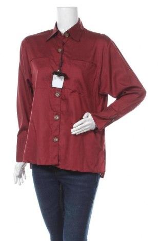 Dámská košile  Massimo Dutti, Velikost M, Barva Červená, 63% lyocell, 37% bavlna, Cena  321,00Kč