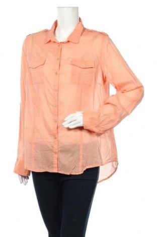 Дамска риза Miss Shop, Размер XL, Цвят Оранжев, Памук, Цена 4,82лв.