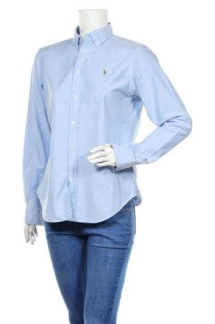 Γυναικείο πουκάμισο Ralph Lauren, Μέγεθος L, Χρώμα Μπλέ, Βαμβάκι, Τιμή 52,30€