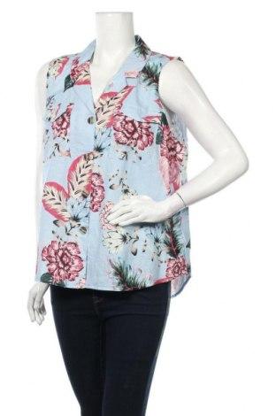 Дамска риза Sussan, Размер XXL, Цвят Многоцветен, 60% лен, 40% памук, Цена 13,44лв.