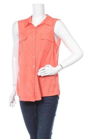 Γυναικείο πουκάμισο Suzanne Grae, Μέγεθος L, Χρώμα Πορτοκαλί, Πολυεστέρας, βισκόζη, Τιμή 3,86€