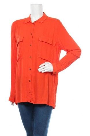Γυναικείο πουκάμισο Tom Tailor, Μέγεθος XL, Χρώμα Πορτοκαλί, Βισκόζη, Τιμή 13,22€