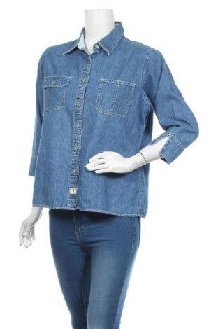 Γυναικείο πουκάμισο Tommy Hilfiger, Μέγεθος XL, Χρώμα Μπλέ, Τιμή 34,62€