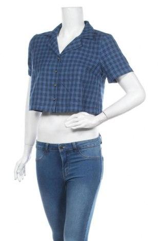 Cămașă de femei Urban Outfitters, Mărime M, Culoare Albastru, 66% poliester, 34% viscoză, Preț 170,23 Lei