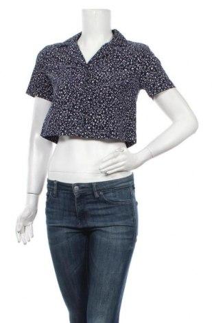 Cămașă de femei Urban Outfitters, Mărime S, Culoare Albastru, Bumbac, Preț 170,23 Lei