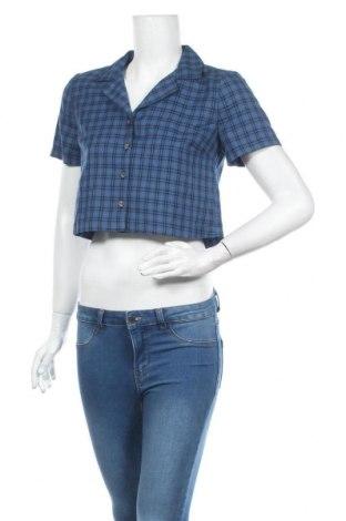 Cămașă de femei Urban Outfitters, Mărime S, Culoare Albastru, 66% poliester, 34% viscoză, Preț 157,90 Lei
