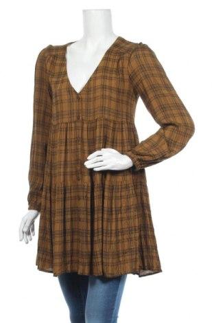 Cămașă de femei Urban Outfitters, Mărime S, Culoare Maro, Viscoză, Preț 219,57 Lei