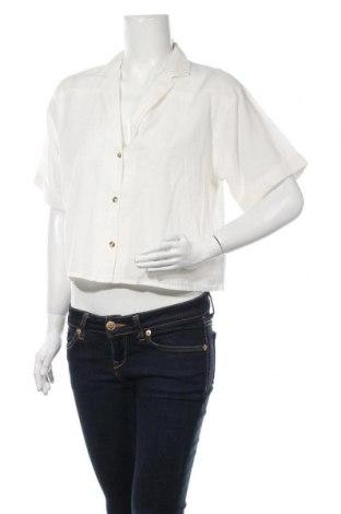 Cămașă de femei Urban Outfitters, Mărime M, Culoare Alb, Bumbac, Preț 120,89 Lei