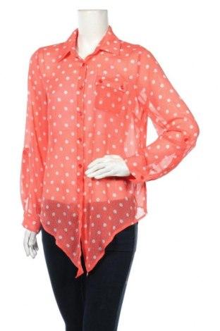 Дамска риза Zac & Rachel, Размер M, Цвят Оранжев, 100% полиестер, Цена 3,27лв.