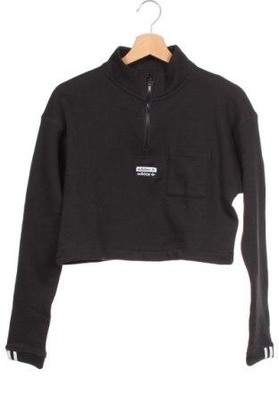 Bluză trening de femei Adidas Originals, Mărime XS, Culoare Negru, Bumbac, Preț 194,90 Lei