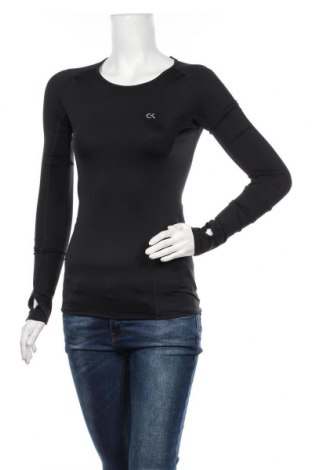 Bluză trening de femei Calvin Klein, Mărime S, Culoare Negru, 86% poliester, 14% elastan, Preț 295,11 Lei