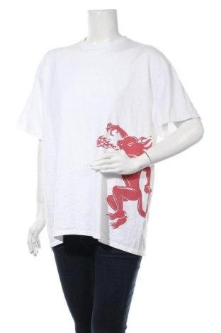 Дамска тениска, Размер XL, Цвят Бял, Памук, Цена 19,50лв.