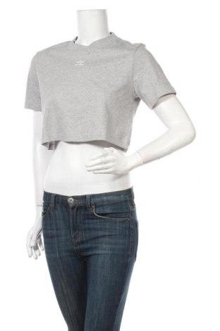 Tricou de femei Adidas Originals, Mărime S, Culoare Gri, Bumbac, Preț 145,56 Lei