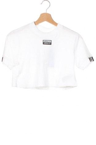 Tricou de femei Adidas Originals, Mărime XXS, Culoare Alb, Bumbac, Preț 145,56 Lei