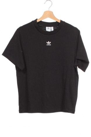 Tricou de femei Adidas Originals, Mărime XS, Culoare Negru, Bumbac, Preț 145,56 Lei
