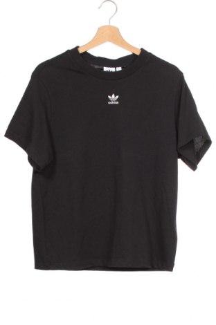 Tricou de femei Adidas Originals, Mărime XS, Culoare Negru, Bumbac, Preț 157,90 Lei