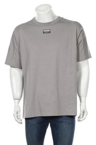 Tricou de femei Adidas Originals, Mărime M, Culoare Gri, Bumbac, Preț 170,23 Lei