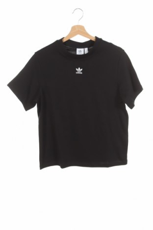 Tricou de femei Adidas Originals, Mărime XS, Culoare Negru, 95% bumbac, 5% elastan, Preț 170,23 Lei
