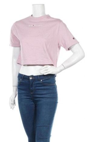 Tricou de femei Champion, Mărime M, Culoare Roz, Bumbac, Preț 103,62 Lei