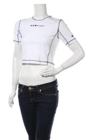 Tricou de femei Champion, Mărime M, Culoare Alb, 90% bumbac, 10% elastan, Preț 103,62 Lei