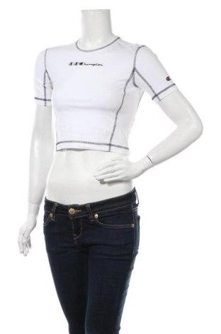 Tricou de femei Champion, Mărime S, Culoare Alb, 90% bumbac, 10% elastan, Preț 78,95 Lei