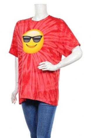 Дамска тениска Gildan, Размер L, Цвят Червен, Памук, Цена 18,00лв.