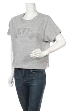 Дамска тениска Levi's, Размер M, Цвят Сив, Памук, Цена 43,07лв.