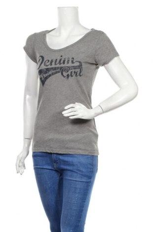 Γυναικείο t-shirt Tom Tailor, Μέγεθος S, Χρώμα Γκρί, 65% πολυεστέρας, 35% βαμβάκι, Τιμή 18,19€