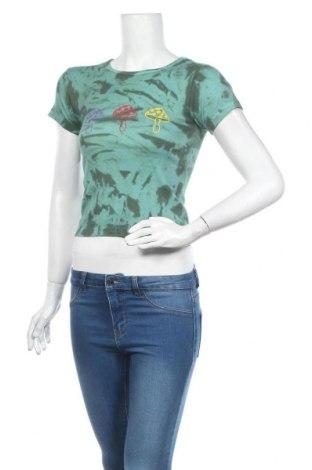 Tricou de femei Urban Outfitters, Mărime S, Culoare Verde, Bumbac, Preț 120,89 Lei