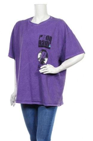 Дамска тениска Urban Outfitters, Размер L, Цвят Лилав, Цена 34,50лв.