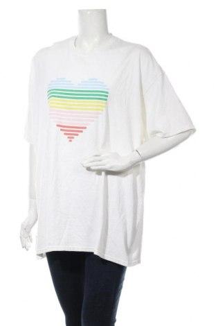 Дамска тениска Urban Outfitters, Размер XL, Цвят Бял, Цена 25,50лв.